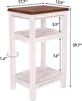 Amazon.com: Mesa de café pequeña redonda simple moderna sala ...