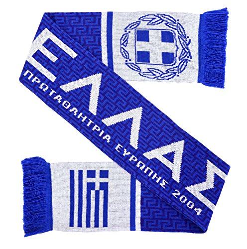 Euroscarves Griechenland Greece Fußball Strickschal