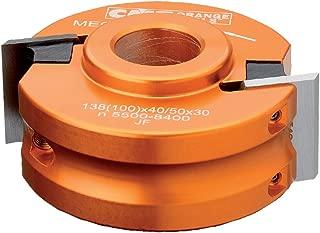 CMT 692.100.26 Universal Shaper Cutter Head, 4-Inch Diameter, 1-Inch Bore