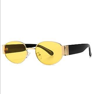 CAIXIN SHOP - Gafas de Sol Negras de la Lente Clásico - Estilo Unisex del Tono de la protección UV400 de los Hombres y de Las Mujeres