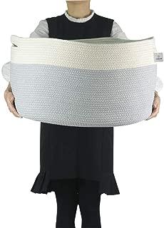 large covered basket