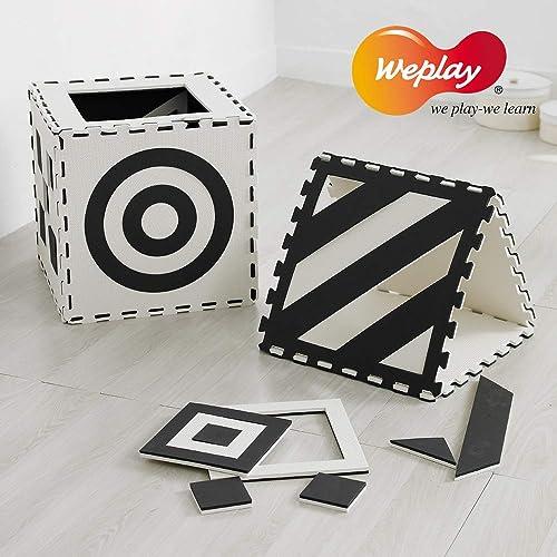 tienda de venta EDUPLAY EduplayKC1101-0KW - - - Puzle Creativo (9 Piezas, 50 x 50 x 1,5 cm), Color negro y blanco  Entrega directa y rápida de fábrica