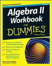 Algebra II Workbook For Dummies, 2nd Edition (For Dummies Series)