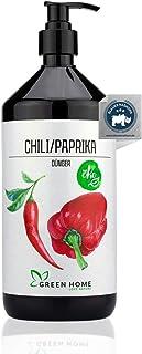 GREEN HOME LOVE NATURE 1L Chili Dünger mit hohem Nährstoffgehalt - nachhaltiger Paprika Dünger einfach zu dosieren - Made in Germany