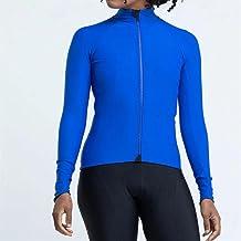 Dames Fietsen Jersey Bike Jersey Shirt Racefiets Fietsen Tops Lange Mouw Fietskleding (Color : Gold, Size : Large)
