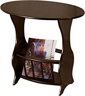 Frenchi Furniture Magazine Table, Dark Cherry