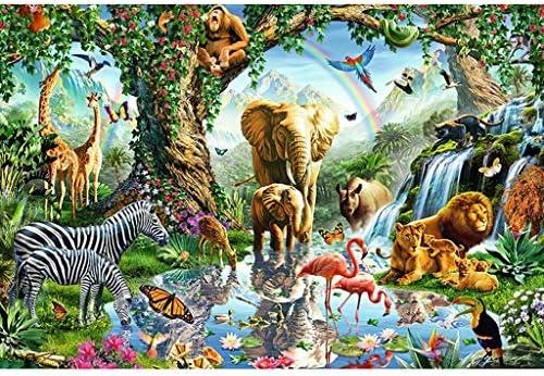Houten puzzel Gepersonaliseerde Brain Challenge puzzel Ouderkind puzzelspel Adult Decompression kinderen educatief speelgoed Size500 pieces