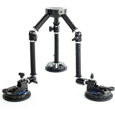Camtree Gripper Suction Car Mount for filmakers Video Making DSLR DV HDV Camera Camcoder (G-51)