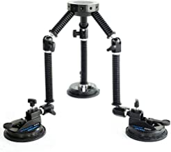Camtree Gripper Suction Car Mount for filmakers Video Blackmagic Sony Canon Nikon Panasonic lumix Camcoder (G-51)