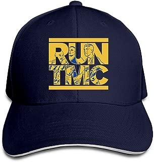 Tim Mitch Chris Warriors RUN TMC Adjustable Flat Caps Unisex Sandwich Hats