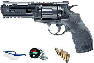 comprar comparacion PACK pistola de aire comprimido - Revólver Umarex UX tornado balines BBs acero <3J