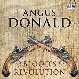Blood's Revolution audiobook cover art
