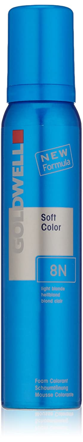 姿勢キャンバスハイライトGoldwell Coloranceソフト色の泡、8N自然、4.2オンス