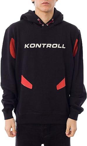 KAPPA KONTROLL Luxury mode Homme 304LFL0904 Noir Sweatshirt   Printemps été 19
