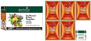 Biotique Bio Anti Tan Facial Kit (Free with Swiss Magic Dark Spot Corrector)