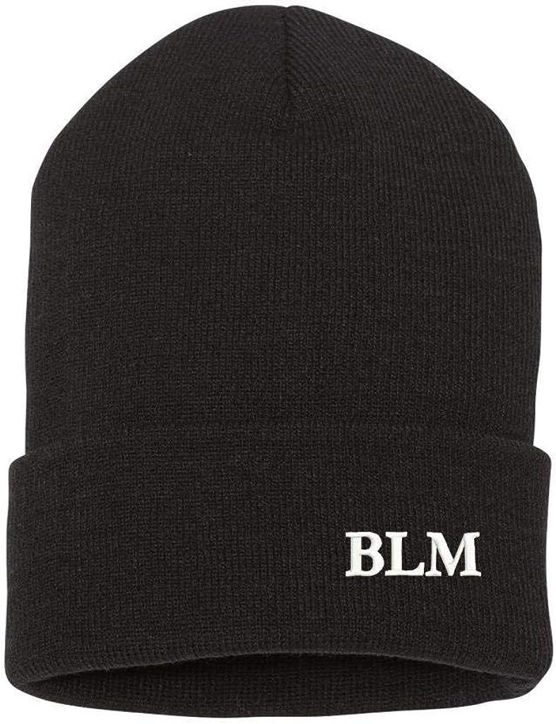 MILITARY BLM Embroidery Logo Beanie