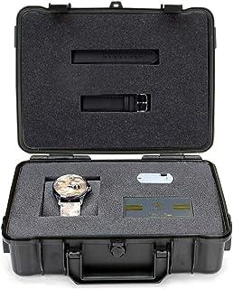 فيتور ساعة عملية كاجوال للرجال انالوج بعقارب جلد - VT021M025959
