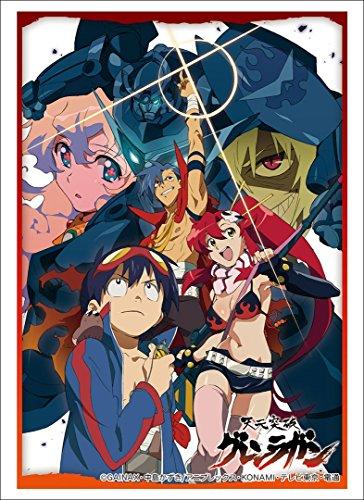Bushiroad Tengen Toppa Gurren Lagann Trading Card Game Character Sleeve Anime Vol 1437 image