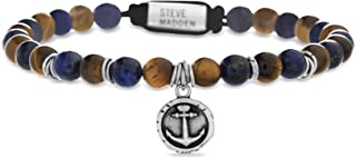Oxidized Stainless Steel Beaded Anchor Disc Adjustable...