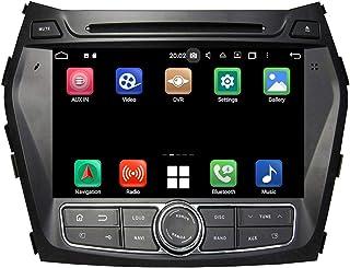 Android 10.0 Auto Radio für Hyundai Santa Fe/IX45(2013 2018), 4 GB RAM+64 GB ROM, 8 Zoll Touchscreen DVD Player Bluetooth Radio GPS Navigationssystem Haupteinheit