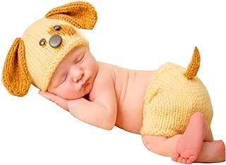 Sombrero de Punto bebé Otoño e Invierno Bebé recién Nacido Ganchillo de Punto Traje de Ropa Fotografía fotográfica Equipo de atuendos