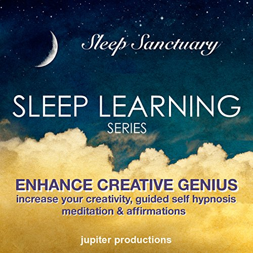 Enhance Creative Genius     Increase Your Creativity, Sleep Learning, Guided Self Hypnosis, Meditation & Affirmations              By:                                                                                                                                 Jupiter Productions                               Narrated by:                                                                                                                                 Anna Thompson                      Length: 3 hrs and 29 mins     1 rating     Overall 3.0