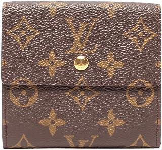 美品 ルイヴィトン 二つ折り財布 ポルトモネ カルトクレディ モノグラム M61652 レディース Louis Vuitton 中古