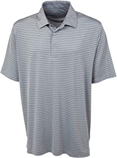 Bobby Jones Golf Apparel - Short Sleeve XH2O Jersey Line Stripe Polo Shirt for Men