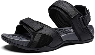 صنادل رياضية للرجال مريحة كلاسيكية أحذية رياضية للمشي مع دعم القوس في الهواء الطلق وادي الشاطئ أحذية المياه