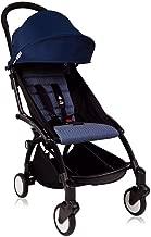 BabyZen - YOYO 6+ Months Stroller - Black Frame - Air France Blue