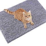 """Best Cat Litter Mats - Vivaglory Kitty Litter Mat, 31""""× 20"""" Microfiber Cat Review"""