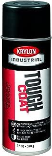 Krylon A03727 Tough Coat Max Flat Acrylic Enamel, 12 oz, Black, 12 Pack (Pack of 12)