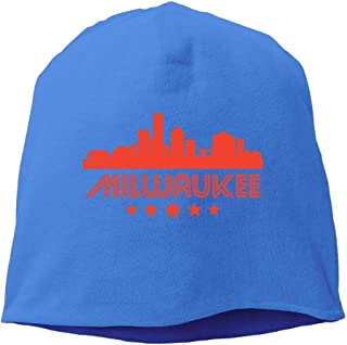 Knitted Cap Beanie Cap Charm Retro Milwaukee Unisex
