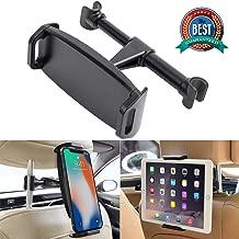 Car Headrest Mount, YUNSONG 360° Rotating Universal Tablet Holder Sedan Backseat Seat Mount for Phone 4.7