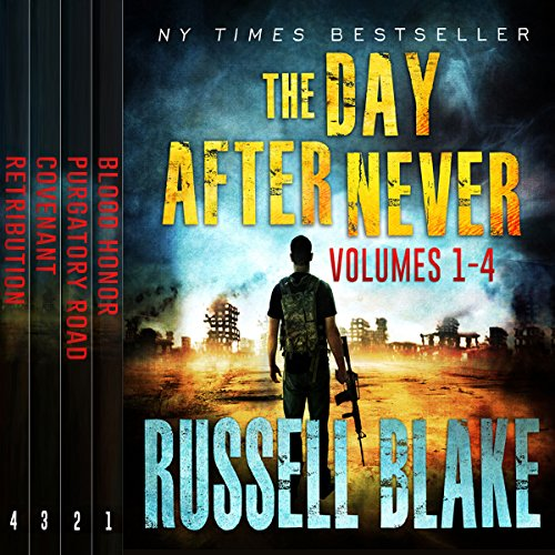 The Day After Never Bundle (First 4 Novels) audiobook cover art