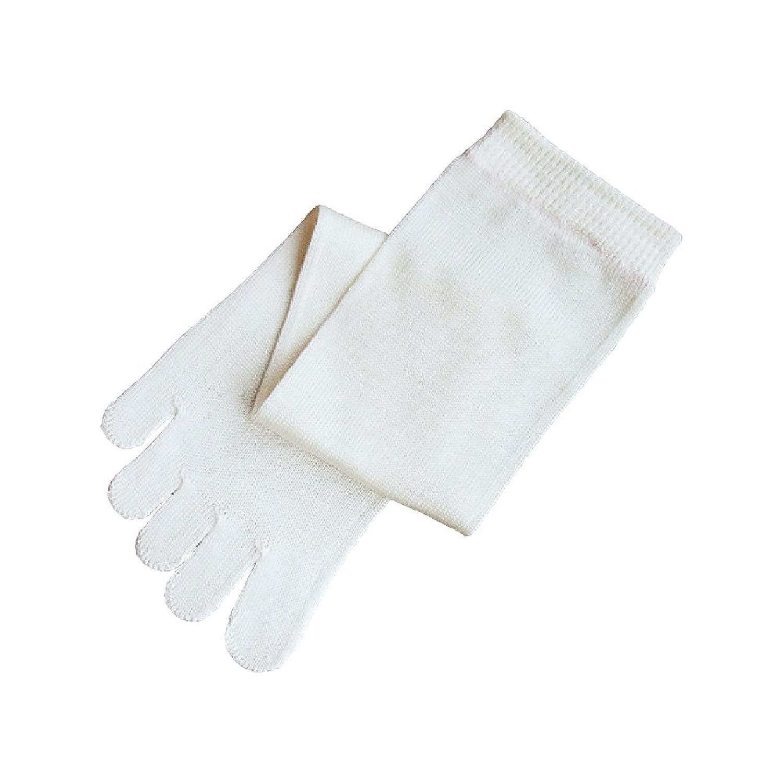 くらしきぬの冷えとり靴下【日本製/絹(シルク)100% 5本指ソックス/Sサイズ】
