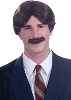 Mr 70s Wig and Moustache