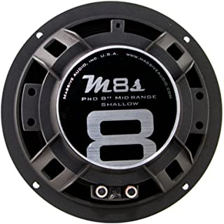 Sponsored Ad - Massive Audio MC8II MC Series. 8 Inch, 600 Watts, 8 Ohm Pro Audio Midrange/Midbass Speaker for Cars, Stage ... photo