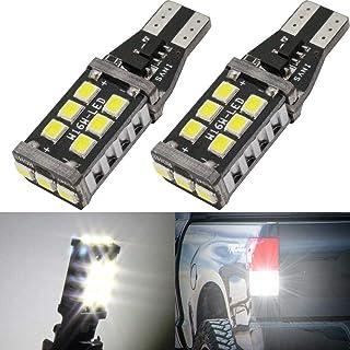 Biqing 2 szt. W16W 955 501 żarówka LED, T10 T15 921/912 Canbus bezbłędne światło cofania LED światło postojowe lampa tylna...