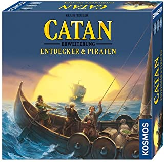 Catan - Entdecker & Piraten: Erweiterung zum Basisspiel. Für 2 - 4 Spieler.