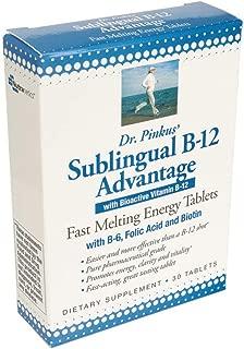 Dr Newton Naturals Sublingual B-12 Advantage - Vitamin B12 Supplement - 30 Fast Melting Energy Tablets