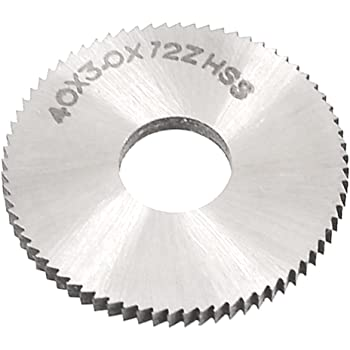 40mmx1.5mm 72 Teeth HSS Circular Slitting Saw Cutter Cutting Tool