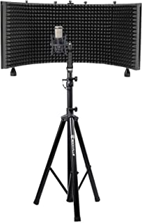 AKG P420 Studio Condenser Recording Podcasting Microphone+Foam Shield+Tripod