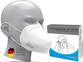 10x FFP3 Atemschutzmaske Zertifiziert Made IN Germany FFP3 Maske Staubschutzmaske Atemmaske Staubmaske 10 Stück verpackt i...