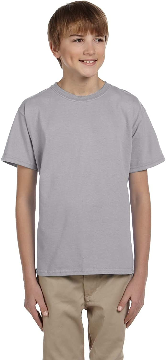 Product of Brand Gildan Youth Ultra Cotton 6 oz T-Shirt - Sport Grey - XS - (Instant Savings of 5% & More)