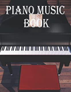 Piano Music Book: Music and Lyrics for 100 Classic Songs