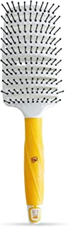 GK HAIR Global Keratin Vent Brush 2.5 Inches For Hair Styling Detangling Hair Brush for Blow Drying Curved Vented Styling ...
