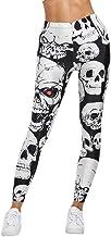 AHUIOPL Push-up Dames Leggings Skull Print Skinny ...