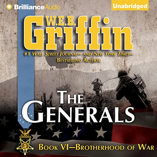 The Generals: Brotherhood of War, Book 6 audiobook cover art