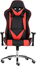 Racoor Video Gaming Chair, Black and Red - 83 x 33 x 65 cm
